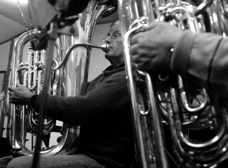 basses in band room nov 2012 - francis.jpg